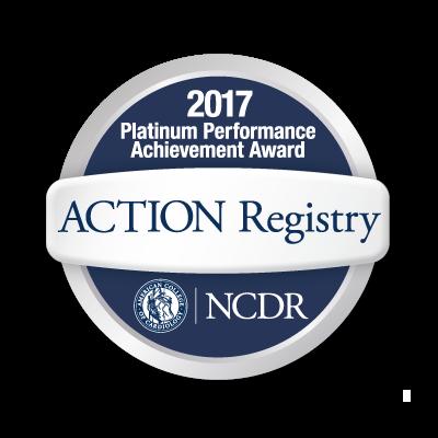 2017 ACTION Registry®–GWTG™ Platinum Performance Achievement