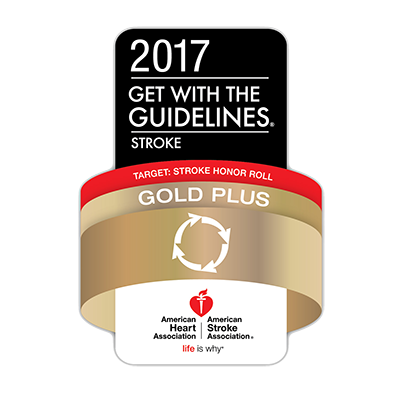 2017 Get With The Guidelines® Stroke - Gold Plus Honor Roll
