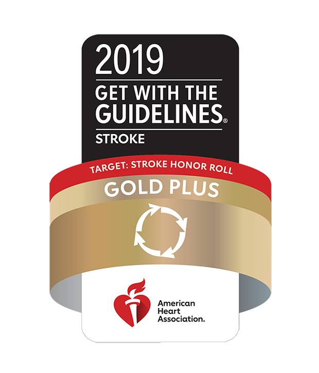 2019 Get With The Guidelines® Stroke - Gold Plus Honor Roll Elite Plus